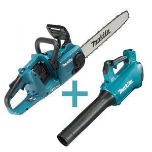 Combo Makita Blower and Chainsaw DUC400Z DUB184Z