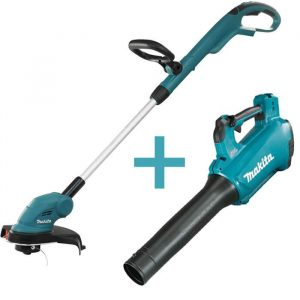 Combo Makita Blower and Trimmer DUB184Z and DUR181Z