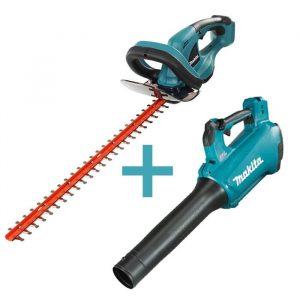 Combo Makita Hedge Trimmer and Blower DUH523Z DUB184Z