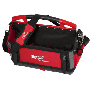 """Key Features All Metal Hardware Padded Shoulder Strap Durable Overmolded Handle 32 Total Pockets Metal Tape Clip Tape Strap Reinforced Side Walls 2 Zippered Pockets Exterior Dimensions - 20.9"""" W x 10.3"""" D x 16.5"""" H Modular Connectivity with ALL PACKOUT™ Components"""